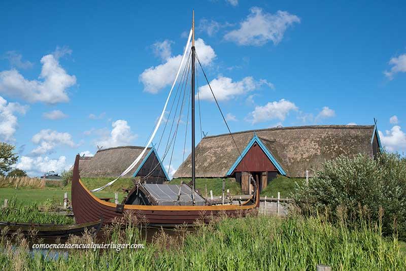 La ruta vikinga de Dinamarca Bork