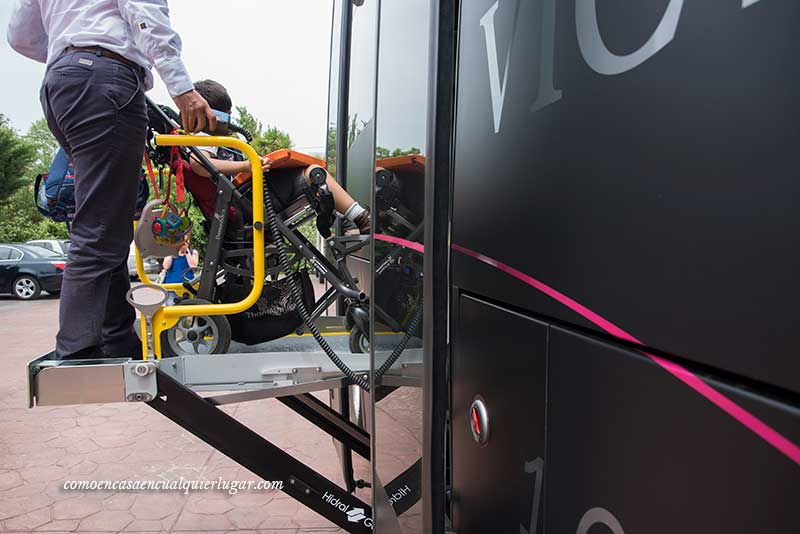 autobus silla de ruedas