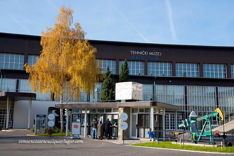 Museo Técnico de Nikola Tesla o Museo Tesla, Zagreb Croacia