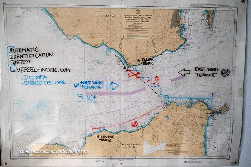Cruzar el estrecho de Gibraltar a nado