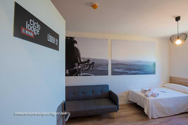Hotel en la Sierra de Madrid Ciclolodge El nevero