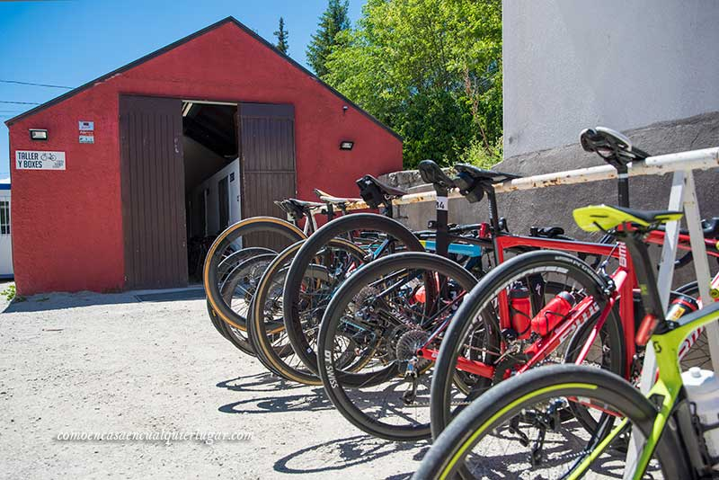 guardar bici en hotel madrid