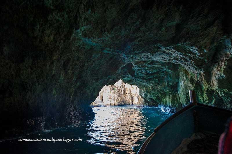 Visita a la Grotta Blue