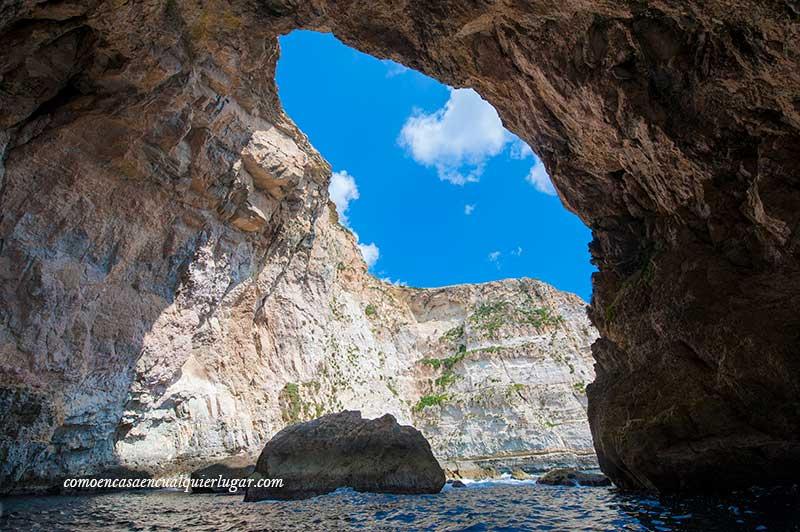 Visita a la Grotta Blue wied iz zurrieq