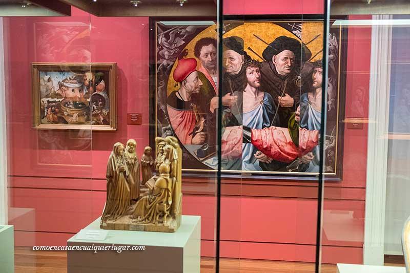 obras de arte el bosco museo lazaro galdiano