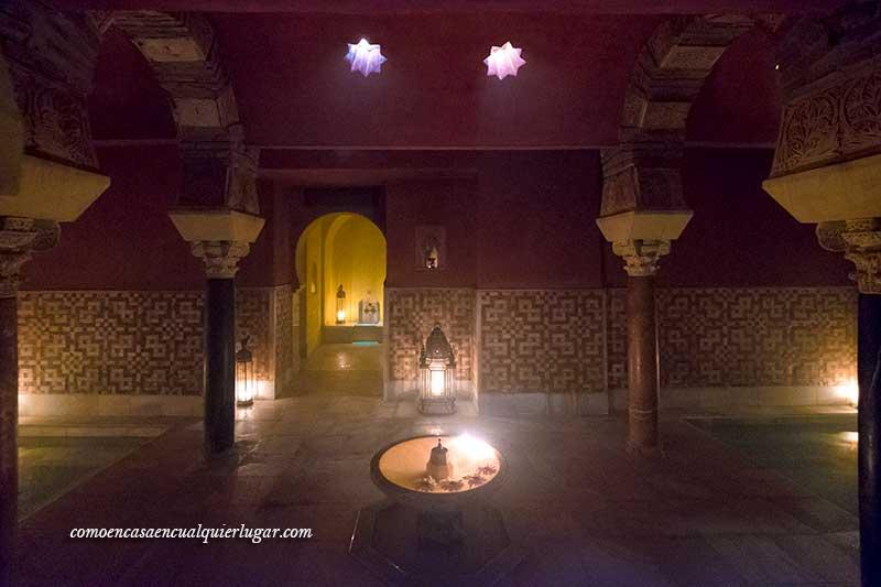 baños árabes Córdoba al andalus