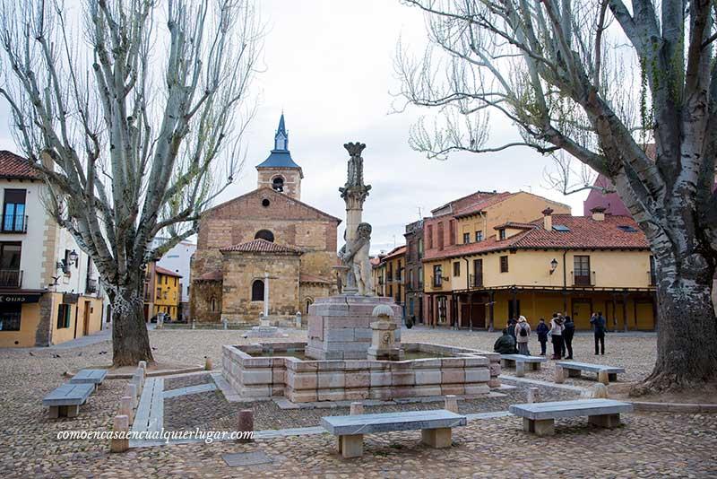 Plaza de Santa María del Camino ó plaza del Grano