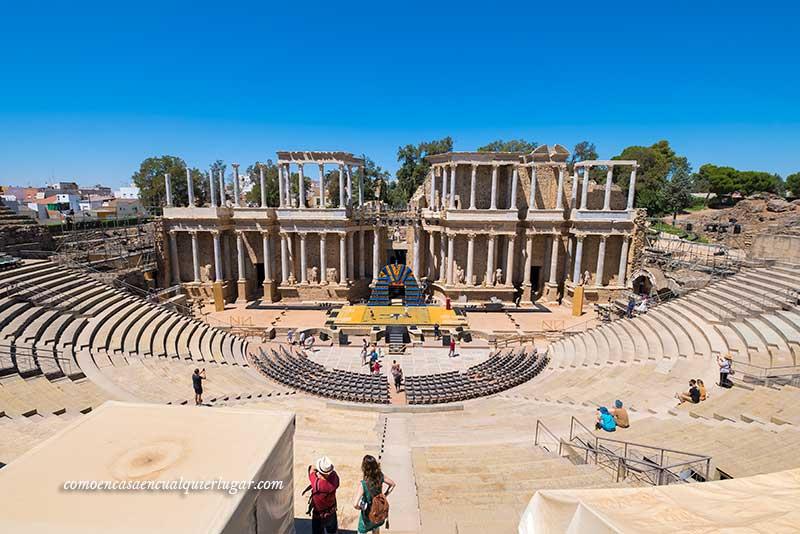 Qué ver en Mérida en un día romano merida