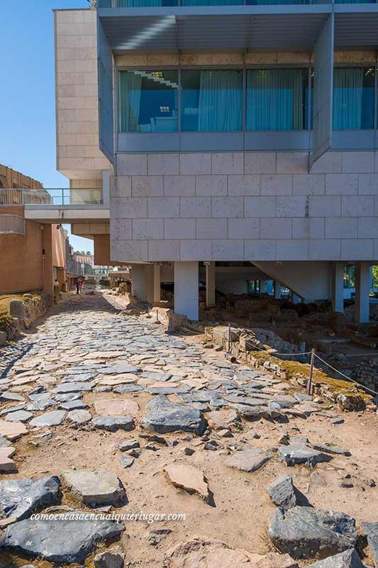 Zona arqueológica de la Morería merida