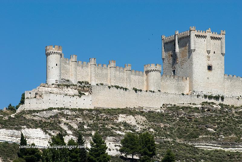 castillo de peñaffiel